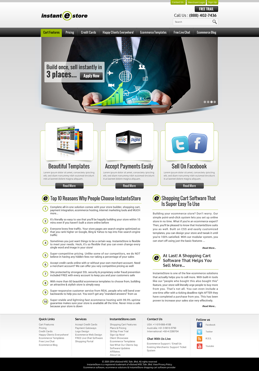 Small Business Web Design For Esolved Com Sdn Bhd By Sbss Design 3253754