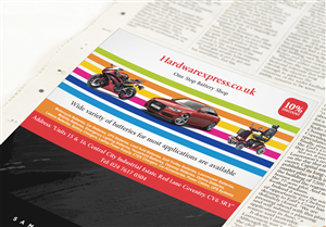 Newspaper Ad Design by DesignMohit