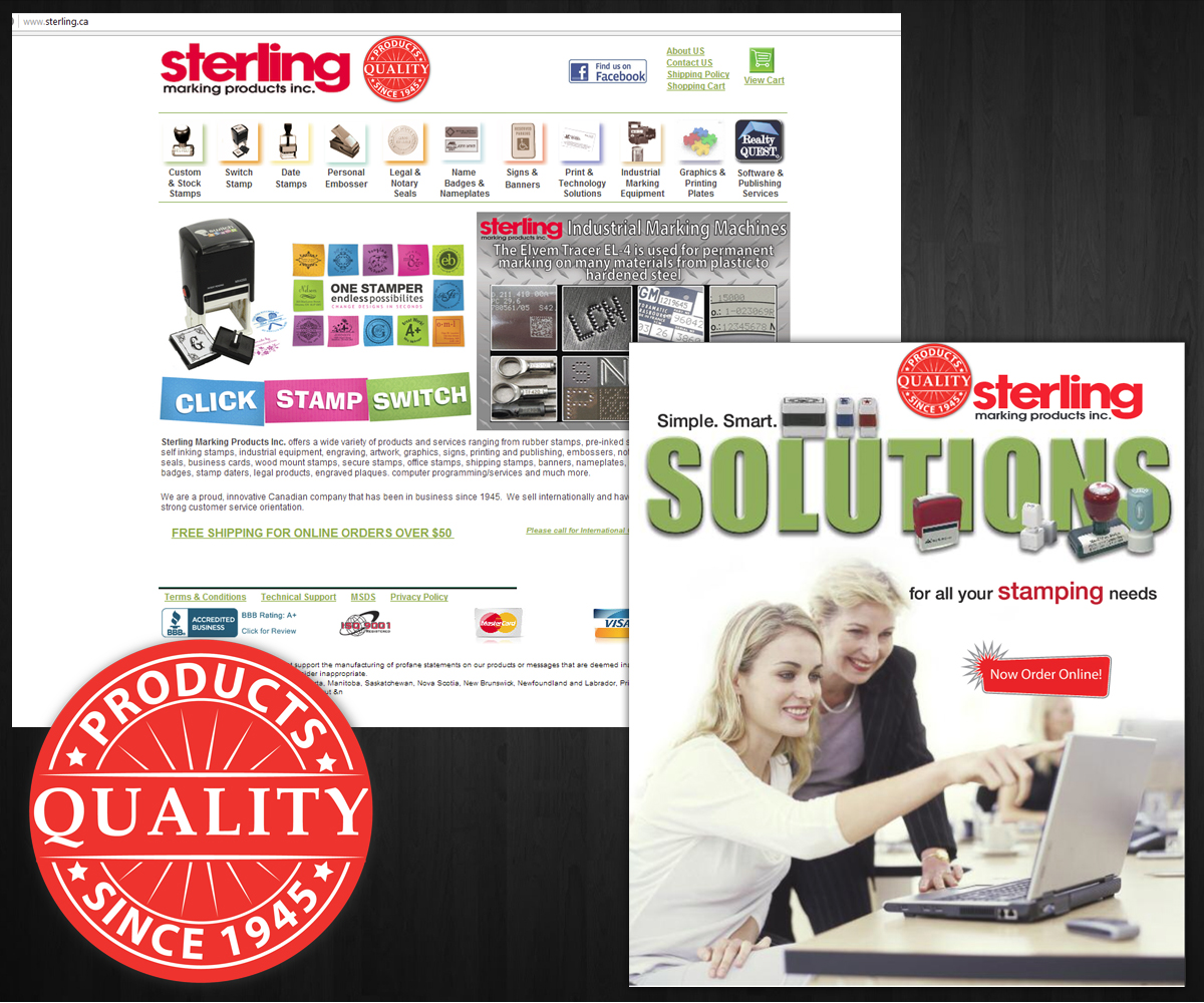 Sterling marking products