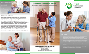 29 Elegant Traditional Home Health Care Brochure Designs for a ...