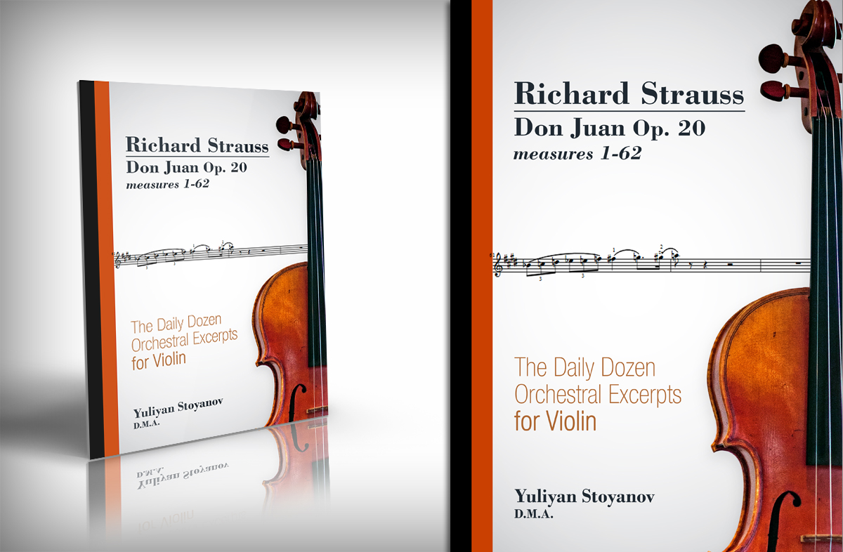 Music Book Cover Design ~ Book cover design for yuliyan stoyanov by kaatem