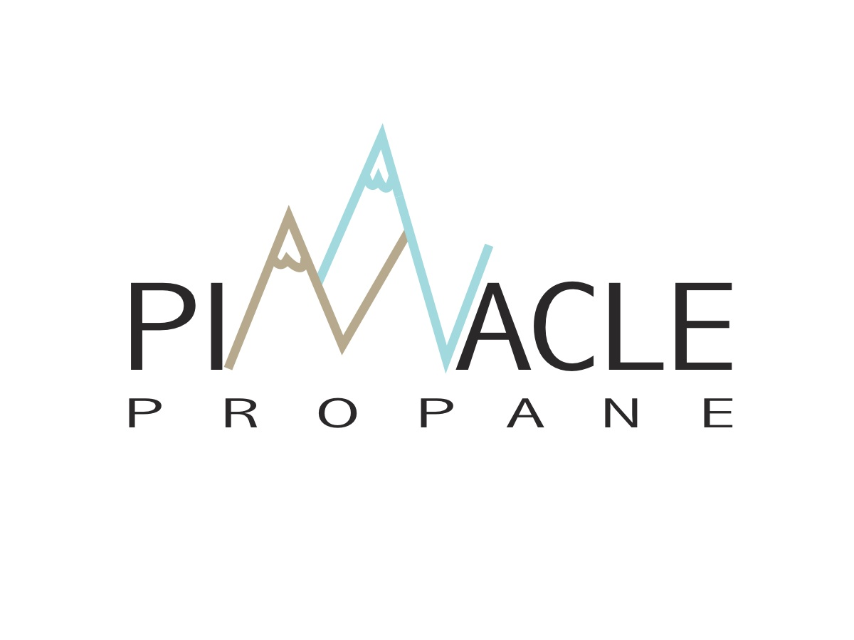 bold playful logo design for pinnacle propane llc by