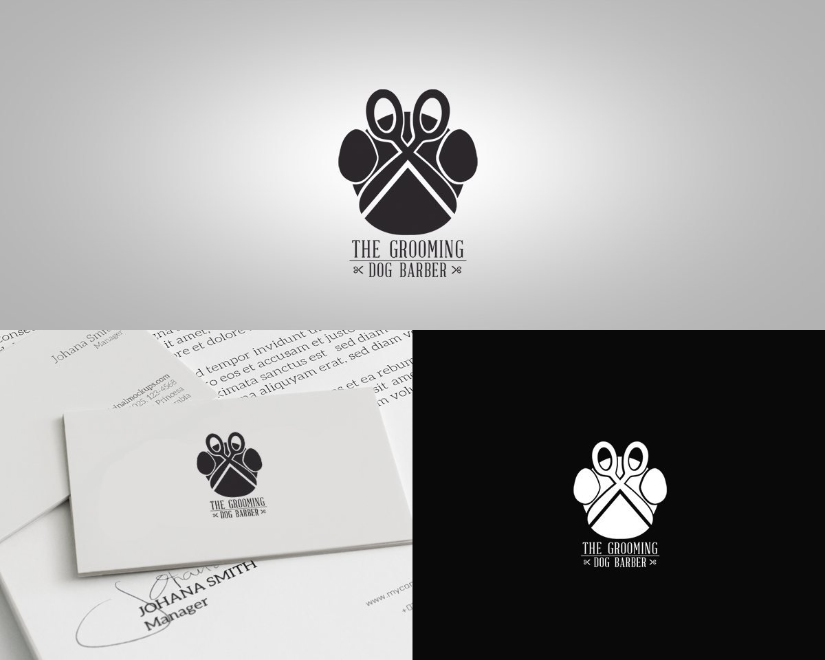 22 Professional Barber Logo Designs for The Grooming Dog Barber a ...