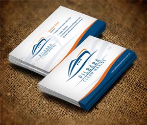 59 modern business card designs business business card design business card design by dirtyemm for pilbara clean marine design 802653 colourmoves