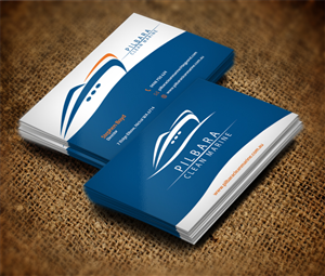 59 modern business card designs business business card design business card design by dirtyemm for pilbara clean marine design 802655 colourmoves