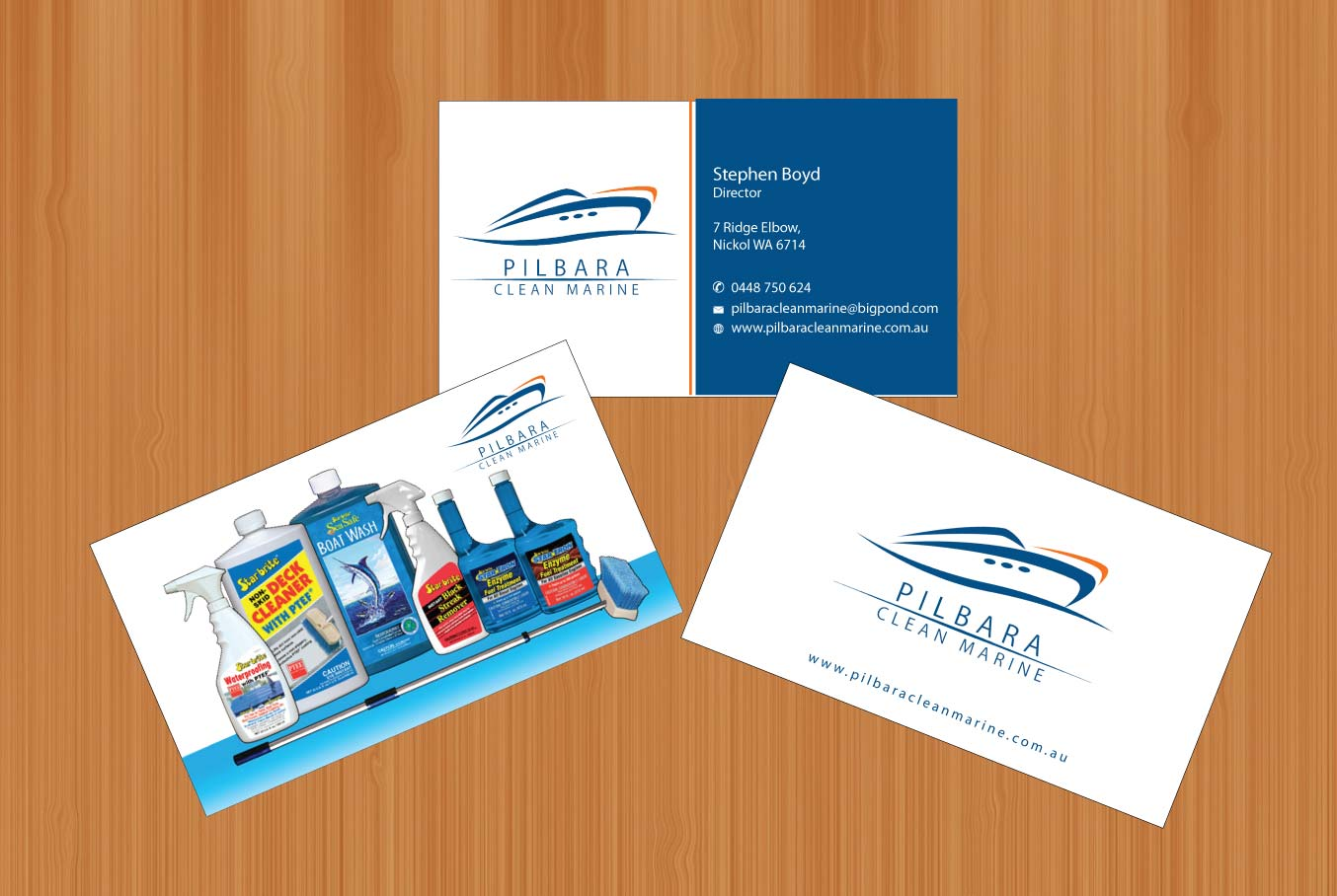 Modern professional business card design for pilbara clean marine business card design by smart for pilbara clean marine business cards design 797262 magicingreecefo Gallery