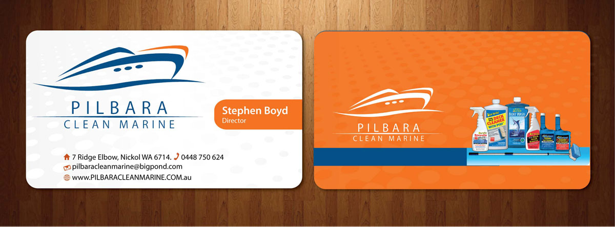 Modern, Professional, Business Business Card Design for Pilbara ...