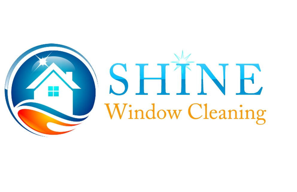 Modern serious window cleaning logo design for shine for Window cleaning logo ideas