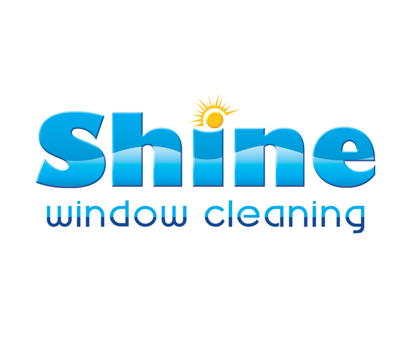 Modern serious window cleaning logo design for shine for Window design solutions