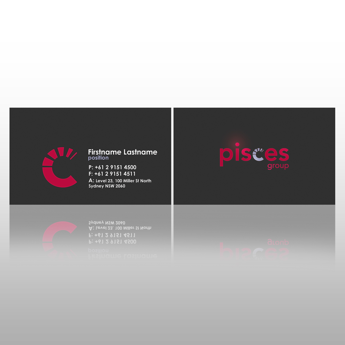 Modern playful business business card design for infinitive by business card design by eyeforui for infinitive design 76109 reheart Choice Image