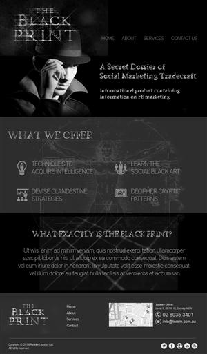 Web Design by jeckx2 - Enter the secret world of social tradecraft