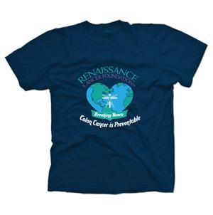 T-shirt Design by RalucaV - Colorectal Awareness T-Shirt for a hospital event
