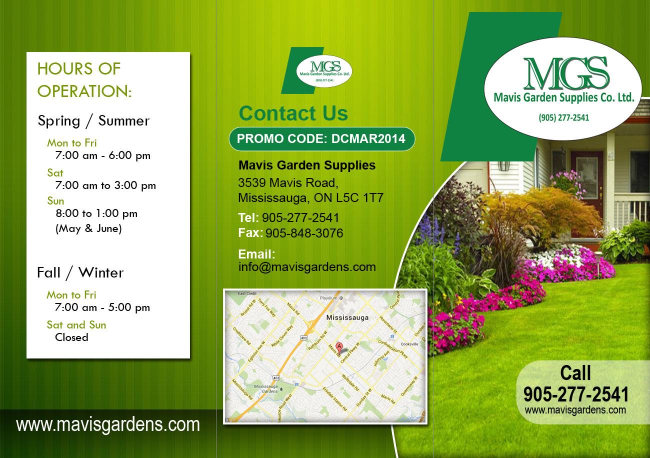 Etonnant Flyer Design By Parul For Mavis Garden Supplies Co. Ltd.   Design #3319228