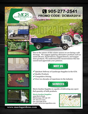 Garden Flyer Design Galleries for Inspiration