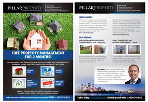 Flyer Design by laxman2creative - Sydney based Property Management Company need a...
