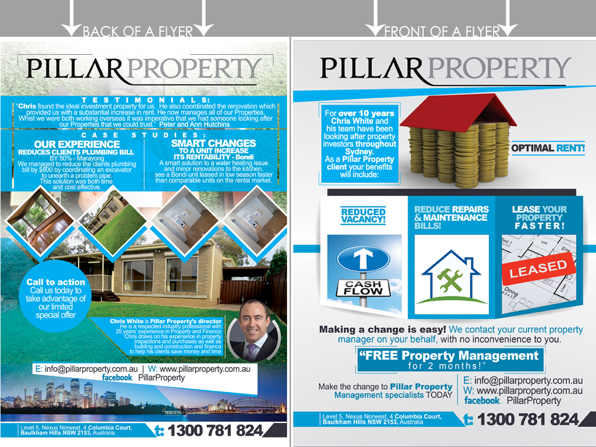property maintenance flyer design galleries for inspiration flyer design by nextconcept nextconcept
