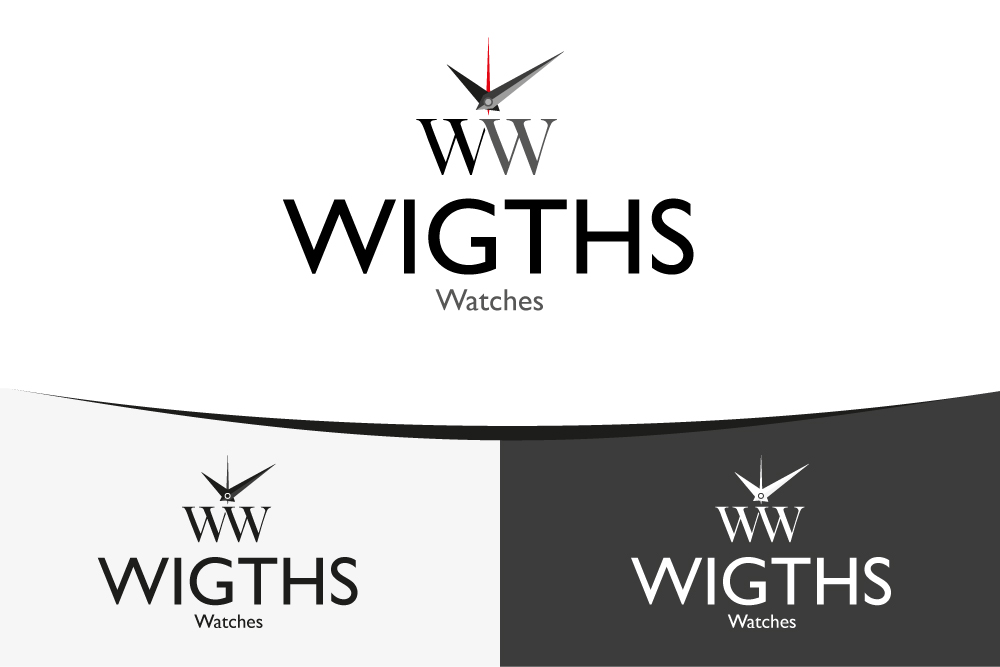 store logo design for wights watches by almeidavector