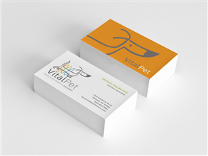 Feminine Economical Pet Business Card Design For A Company By