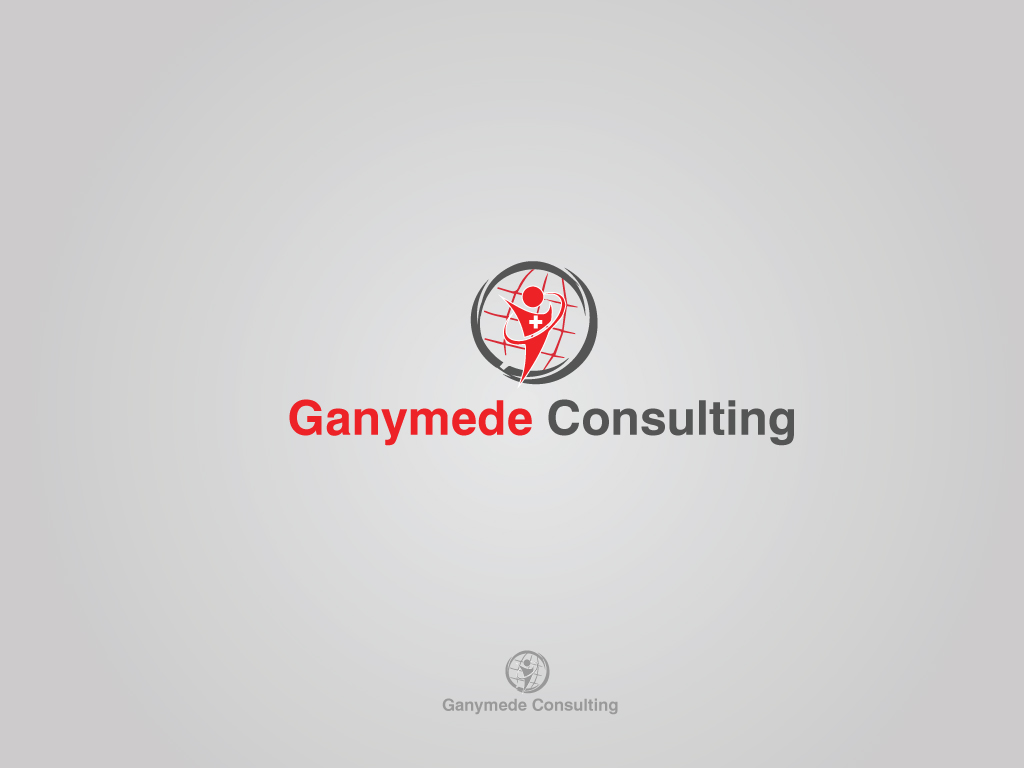 Logo design for ganymede consulting gmbh by fullstop for Medical design consultancy