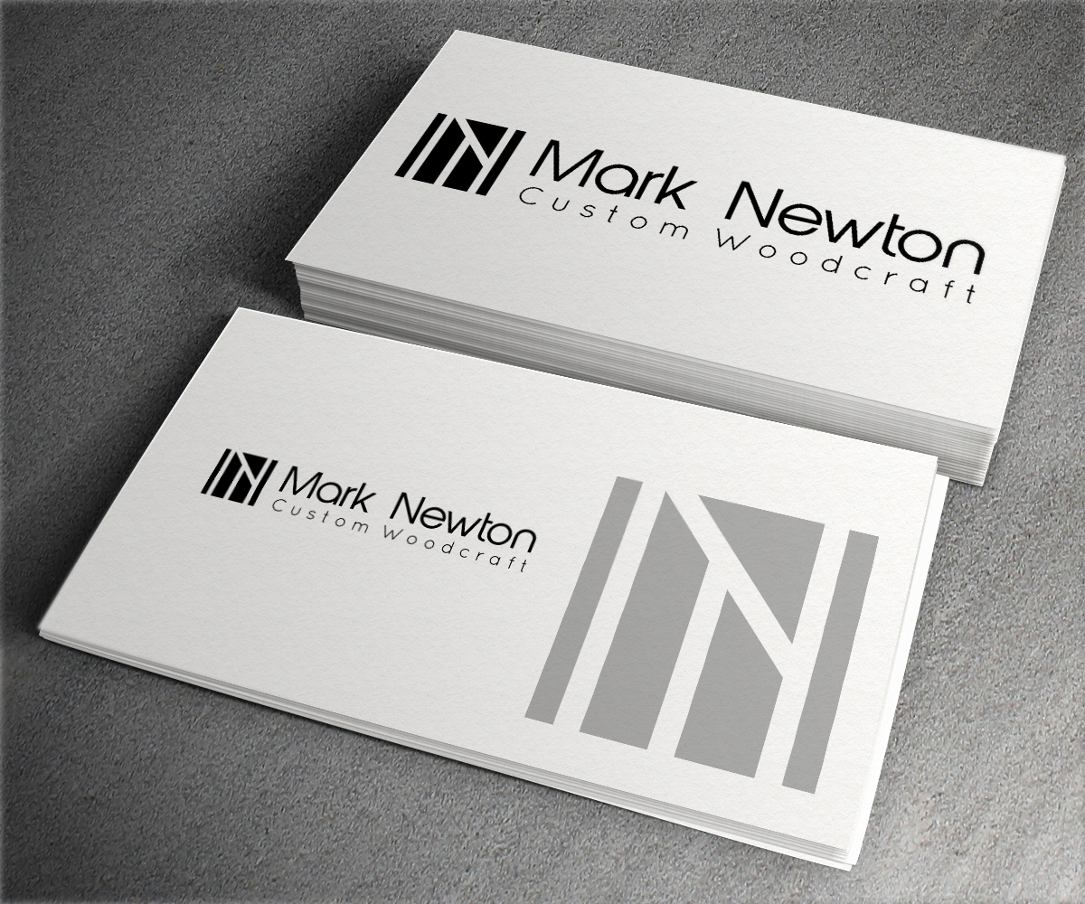 Playful Modern Building Logo Design For Mn And Mark Newton Custom