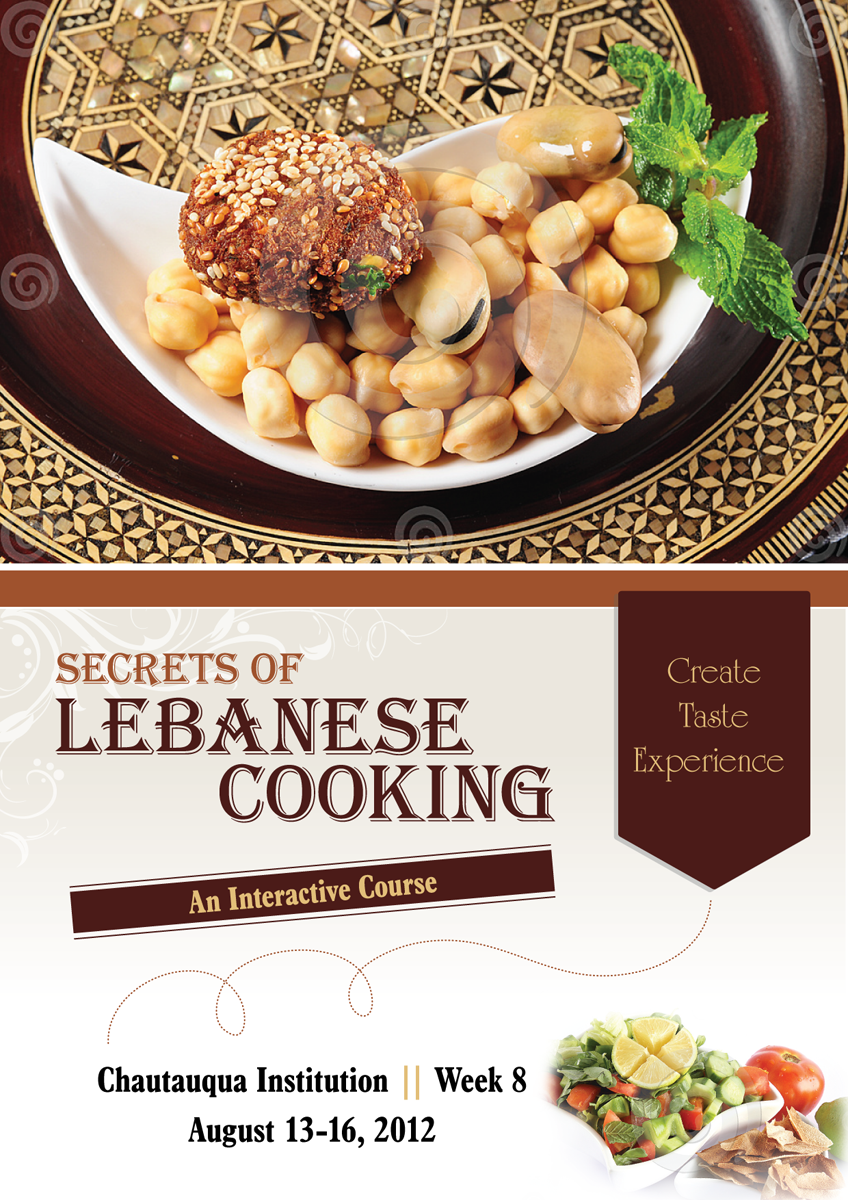 Poster design project - Poster Design By Harpreet Saini For Poster Design Project Lebanese Food Cooking Classes Design