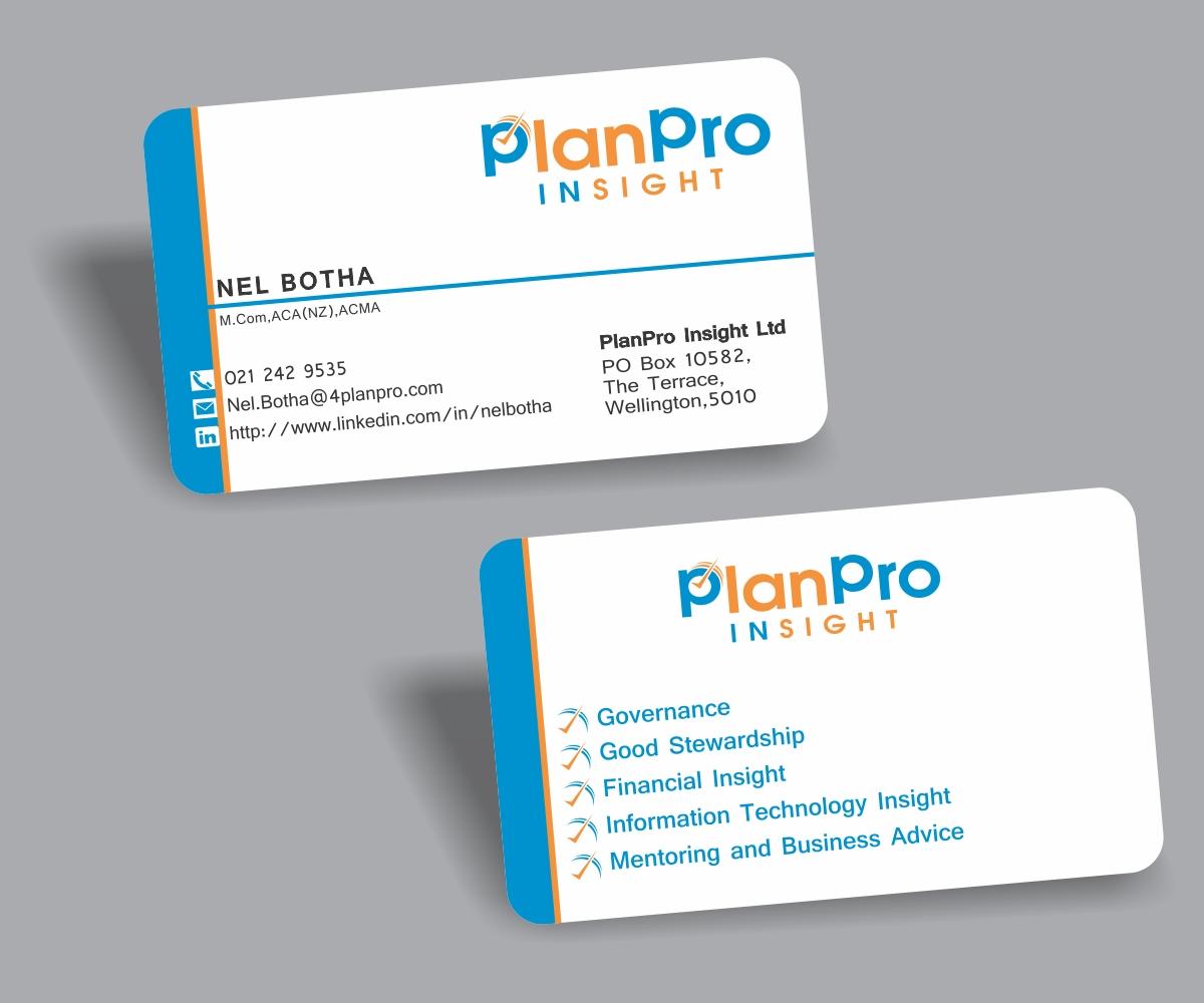 Business Business Card Design for Planpro by AashishSeth   Design ...