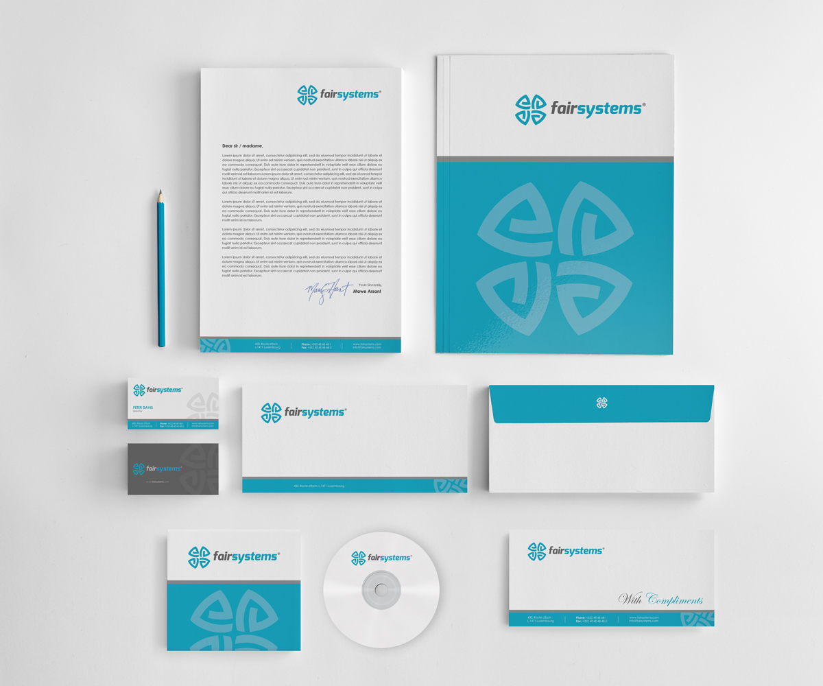 Corporate Stationery: Professional, Masculine, It Company Letterhead Design For