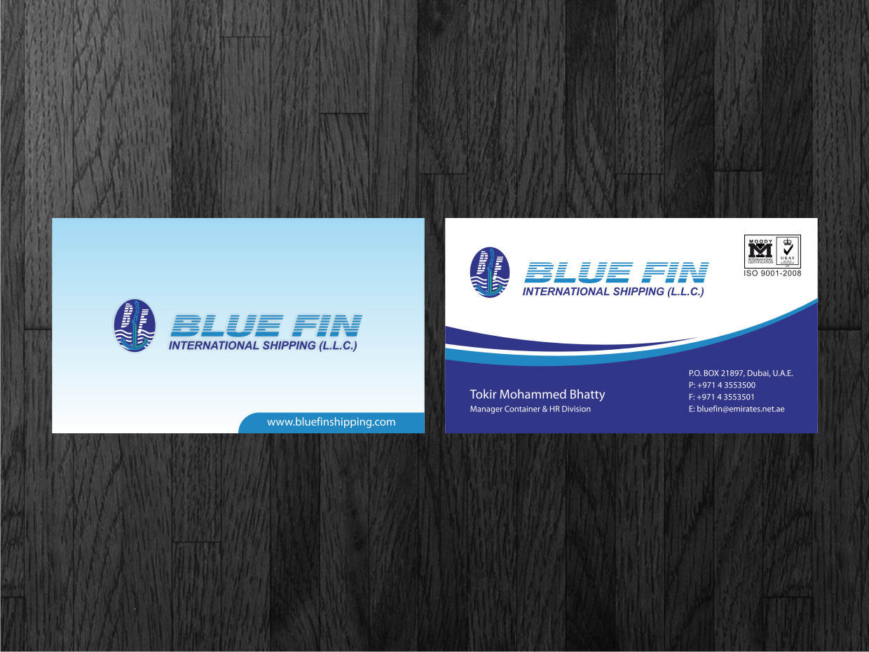 85 Simplistic Business Card Designs | Shipping Business Card Design ...