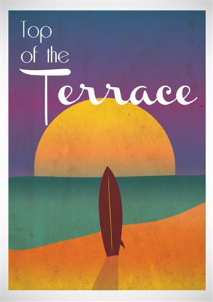 Poster Design by James Hamilton - Create cool iconic vintage style  California po...