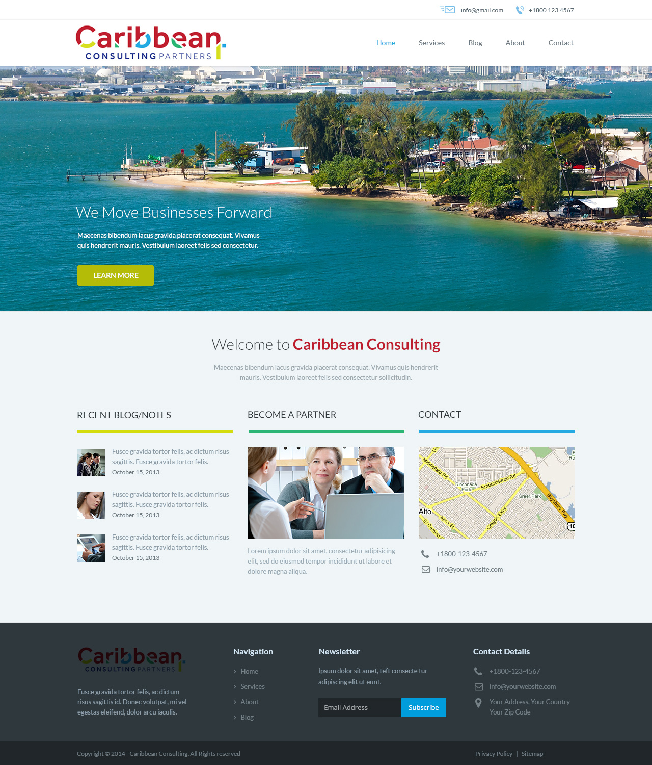 Professional upmarket legal web design for caribbean for Web design consultant