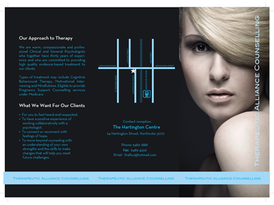 Double Sided Brochure Design 76394