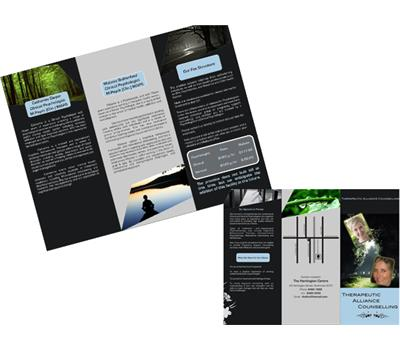 Double Sided Brochure Design 78196