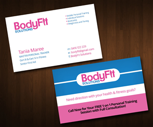 32 feminine business card designs training business card design business card design by zeta for this project design 3344585 colourmoves
