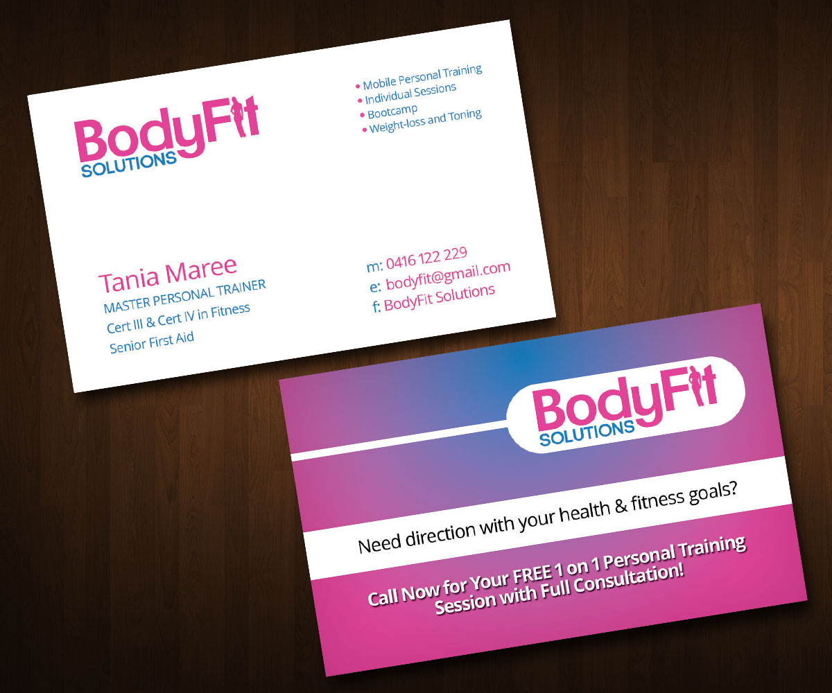 Feminine modern training business card design for a company by business card design by zeta for this project design 3344587 reheart Choice Image
