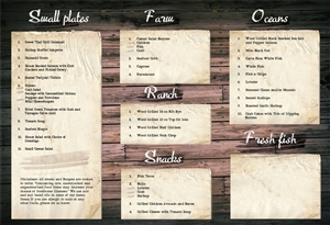 34 playful menu designs restaurant menu design project for Stillwater fish house menu