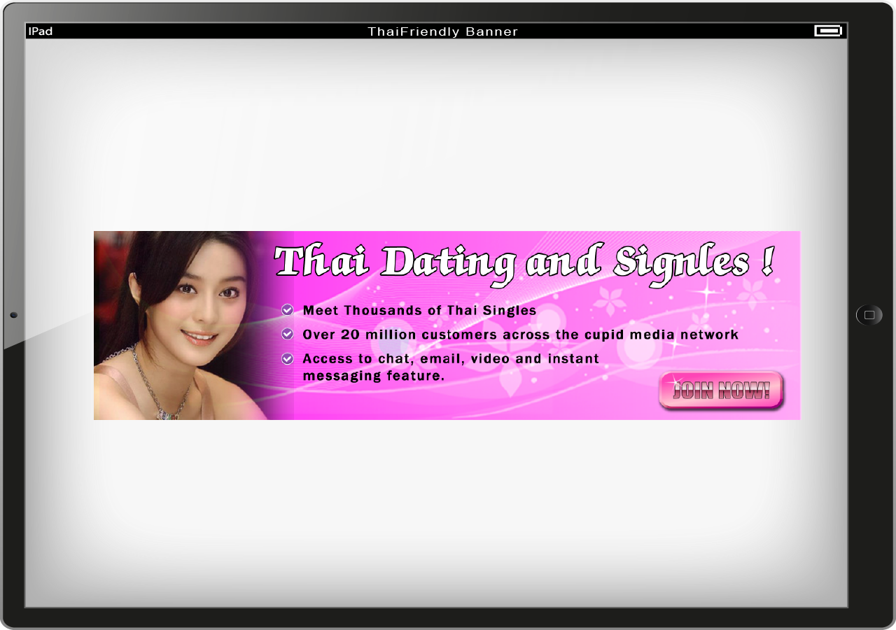 banner ads on dating websites Banner designs for biggest thai dating site displaynamewow needed a new  banner ad design and created a contest on 99designs 2 winners were selected.