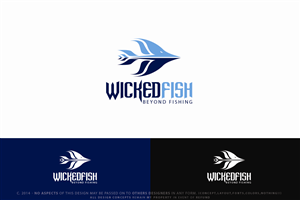T-shirt Design by Senseless - Wicked Fish Performance Apparel