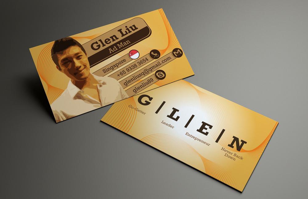 7 Modern Business Card Designs   Advertising Business Card Design ...