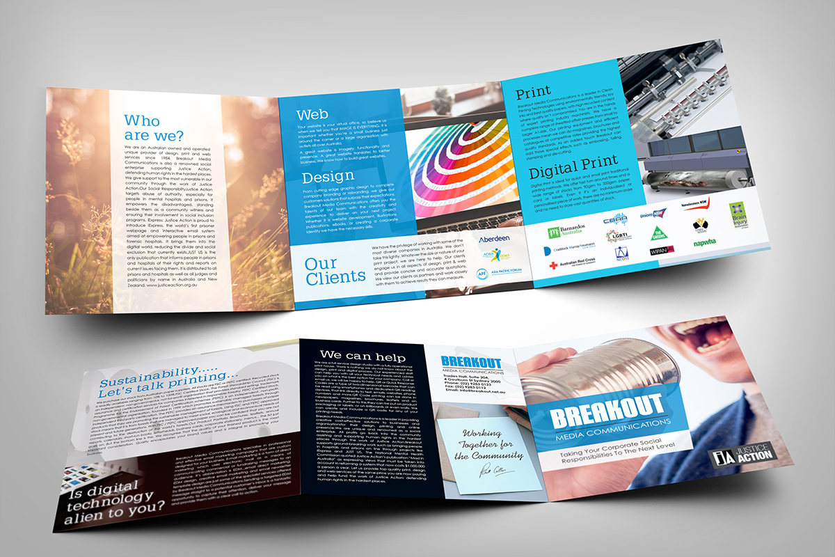 39 Professional Communication Brochure Designs for a Communication ...