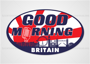 Logo Design by CENTERSPREAD - UK Breakfast TV Show Needs a New Logo!