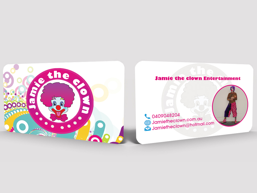 Colorful playful events business card design for a company by business card design by hardcore design for this project design 3349155 colourmoves