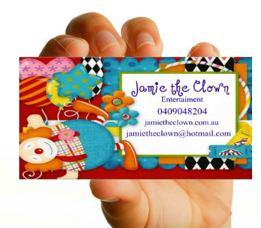 Colorful playful events business card design for a company by business card design by sofia margarett for this project design 3331034 colourmoves