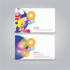 Colorful playful events business card design for a company by business card design by techie for this project design 3337127 colourmoves