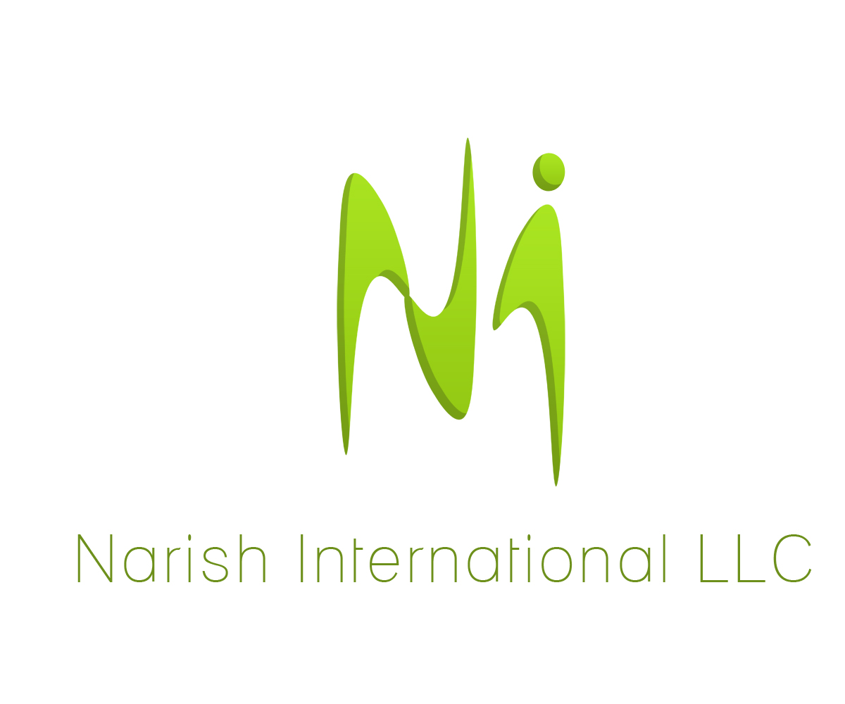 Juguet n vistoso dise o de logo para narish international for Hispano international decor llc