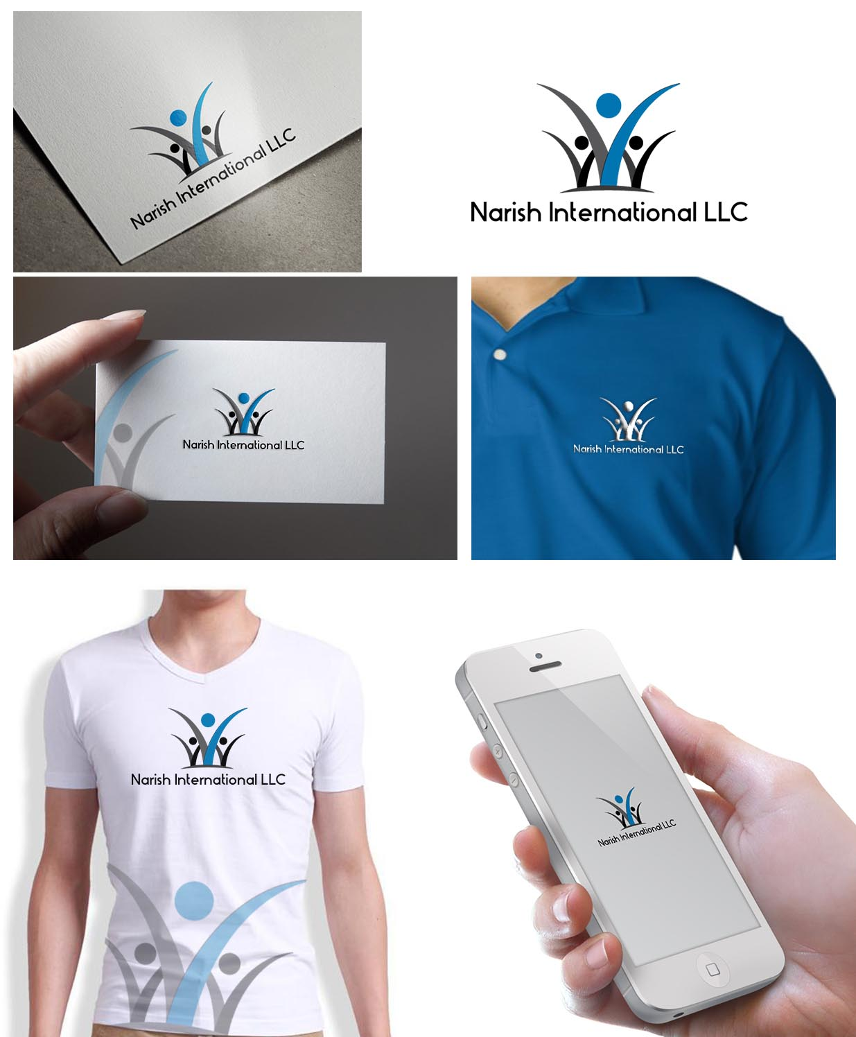 Juguet n vistoso business dise o de logo for narish for Hispano international decor llc