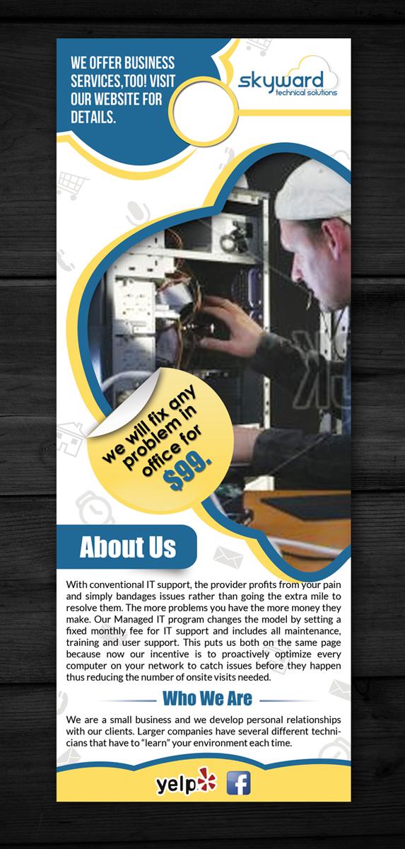 Flyer Design for Justin Henretta by ESolz Technologies   Design ...