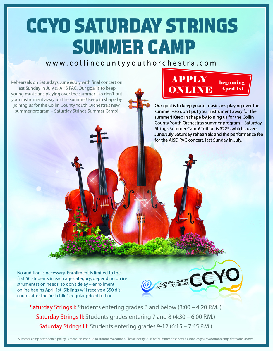 Poster design for youth - Poster Design By Mediaproductionart For Summer Orchestra Weekly Camp Poster Ccyo Youth Orchestra Design