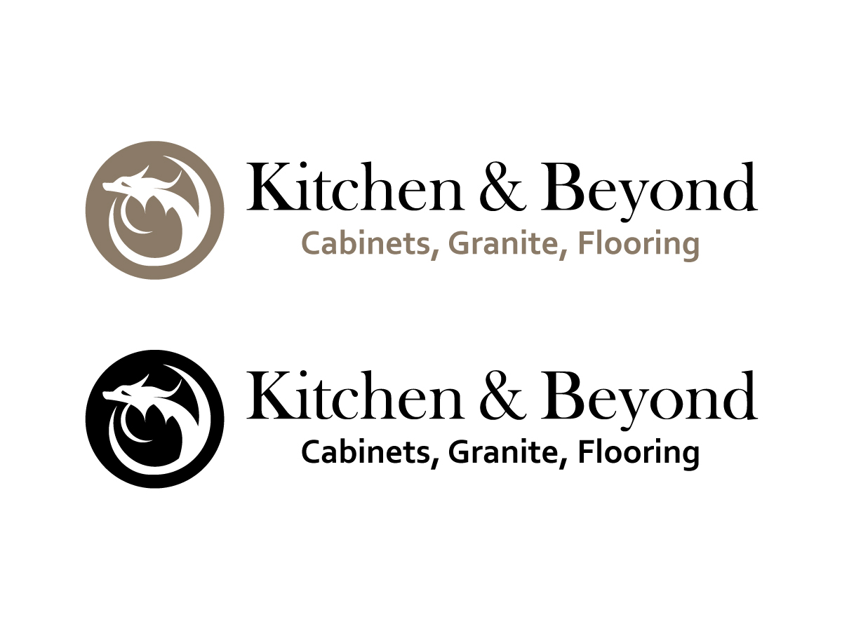 Modern Upmarket Marketing Logo Design For Kitchen Beyond By
