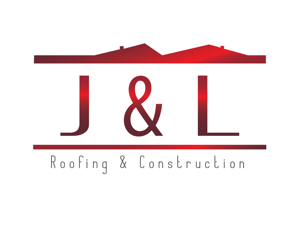 Construction Logo Design For J L Roofing And Construction By Nina G Design 3371910