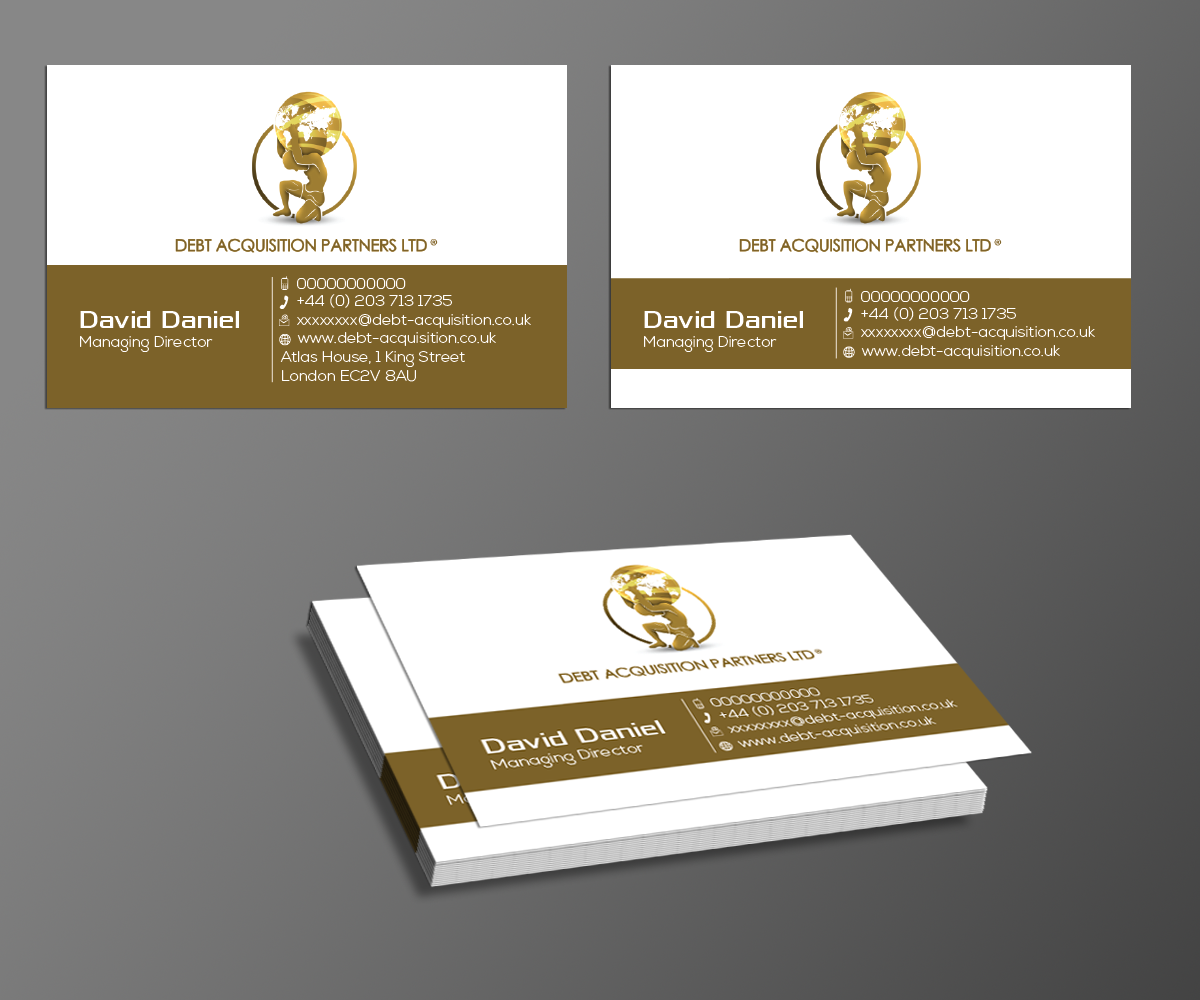 Serious professional business business card design for savoy business card design by kousik for savoy partners design 3418072 reheart Image collections